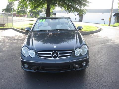 2008 Mercedes-Benz CLK for sale at Euro Asian Cars in Knoxville TN