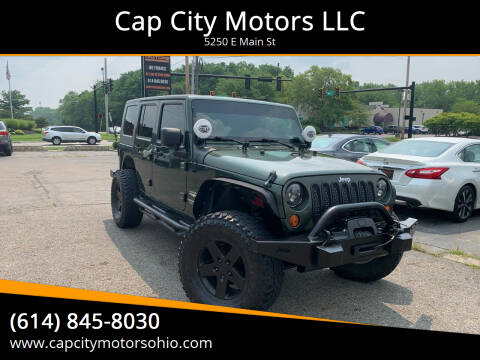 2007 Jeep Wrangler Unlimited for sale at Cap City Motors LLC in Columbus OH