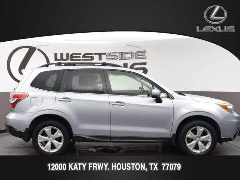 2016 Subaru Forester for sale at LEXUS in Houston TX