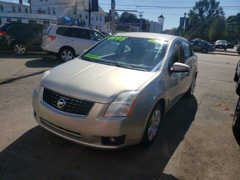 2008 Nissan Sentra for sale at TC Auto Repair and Sales Inc in Abington MA