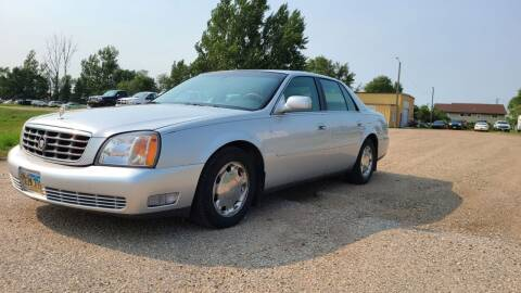 2001 Cadillac DeVille for sale at Sinner Auto in Waubay SD