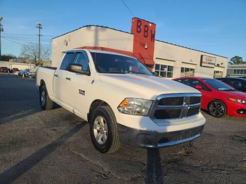 2013 RAM Ram Pickup 1500 for sale at Best Buy Wheels in Virginia Beach VA