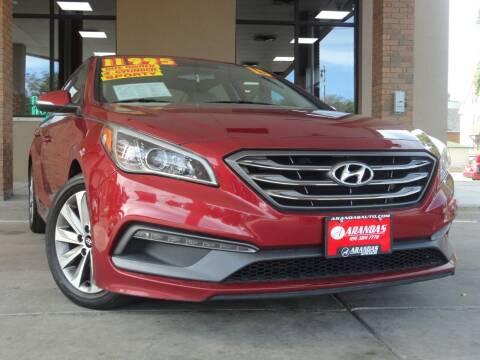 2015 Hyundai Sonata for sale at Arandas Auto Sales in Milwaukee WI