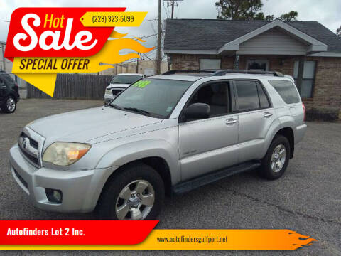 2006 Toyota 4Runner for sale at Autofinders in Gulfport MS
