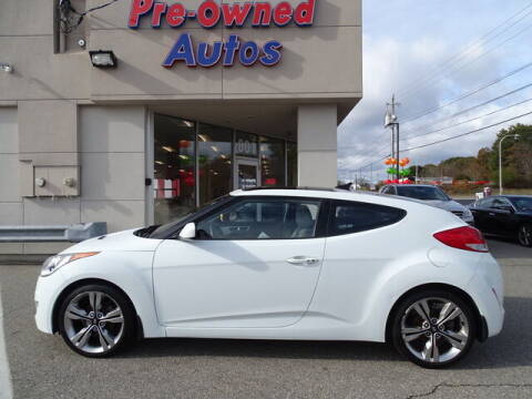 2012 Hyundai Veloster for sale at KING RICHARDS AUTO CENTER in East Providence RI