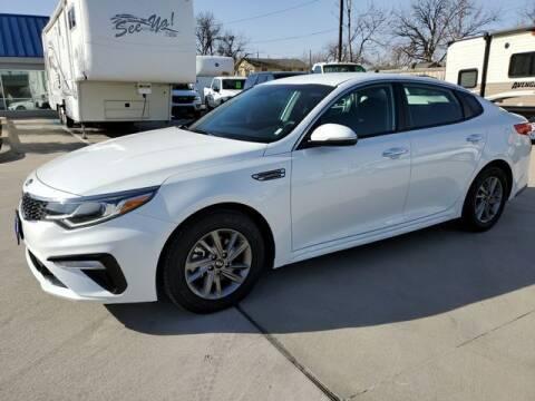 2020 Kia Optima for sale at Kell Auto Sales, Inc - Grace Street in Wichita Falls TX