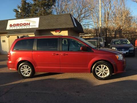 2014 Dodge Grand Caravan for sale at Gordon Auto Sales LLC in Sioux City IA