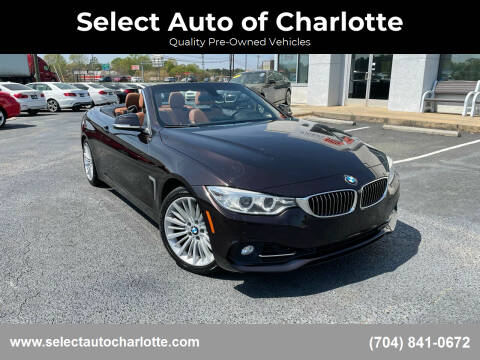 2015 BMW 4 Series for sale at Select Auto of Charlotte in Matthews NC