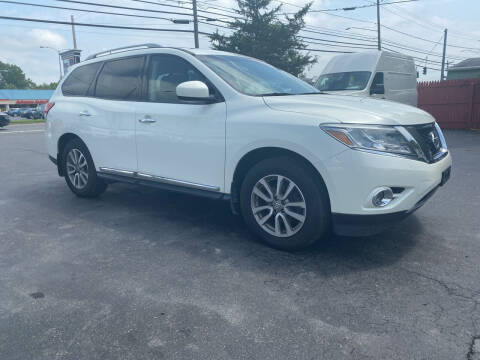 2015 Nissan Pathfinder for sale at Action Automotive Service LLC in Hudson NY