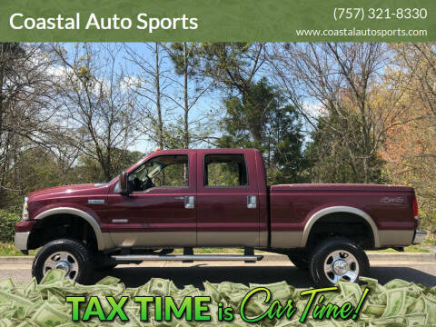 2006 Ford F-350 Super Duty for sale at Coastal Auto Sports in Chesapeake VA
