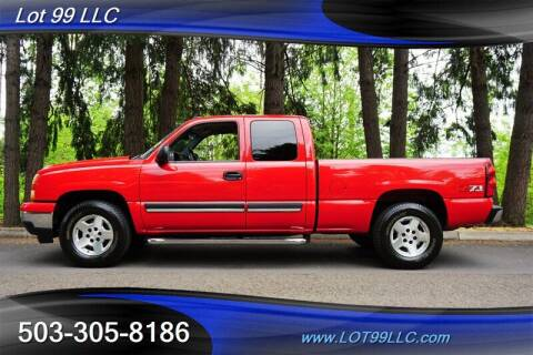 2006 Chevrolet Silverado 1500 for sale at LOT 99 LLC in Milwaukie OR
