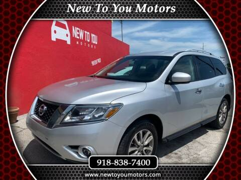 2016 Nissan Pathfinder for sale at New To You Motors in Tulsa OK