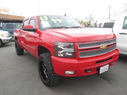 2013 Chevrolet Silverado 1500 for sale at Quick Auto Sales in Modesto CA