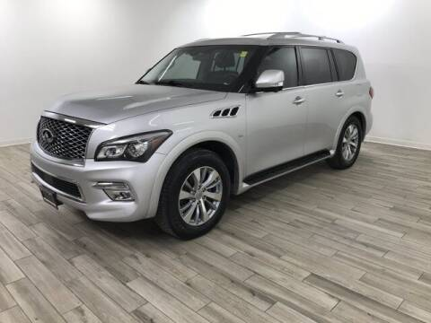 2015 Infiniti QX80 for sale at TRAVERS GMT AUTO SALES - Traver GMT Auto Sales West in O Fallon MO