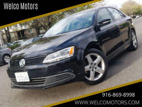2014 Volkswagen Jetta for sale at Welco Motors in Rancho Cordova CA