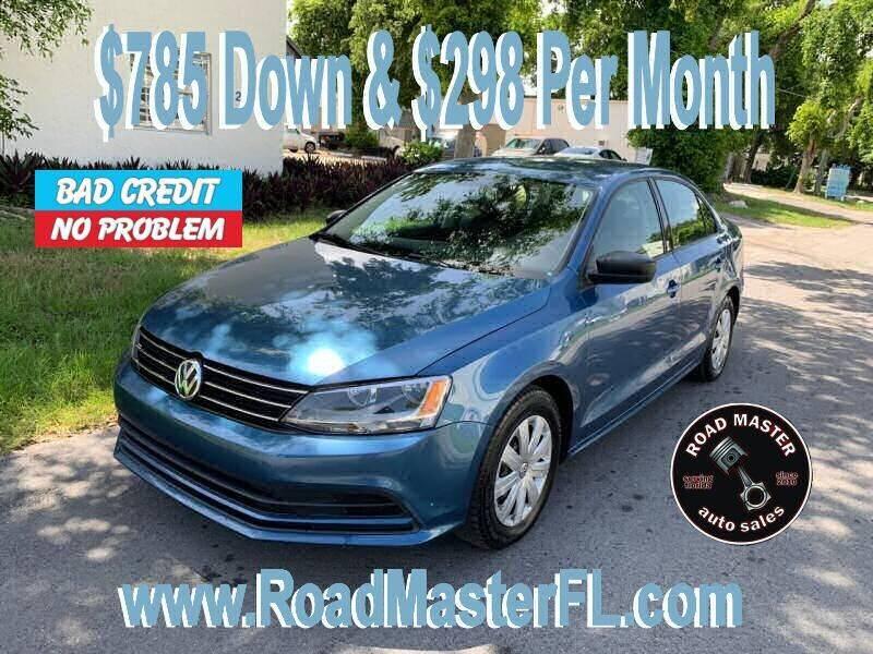 2015 Volkswagen Jetta for sale at Roadmaster Auto Sales in Pompano Beach FL