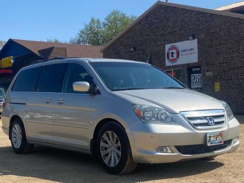 2005 Honda Odyssey for sale at Big Man Motors in Farmington MN