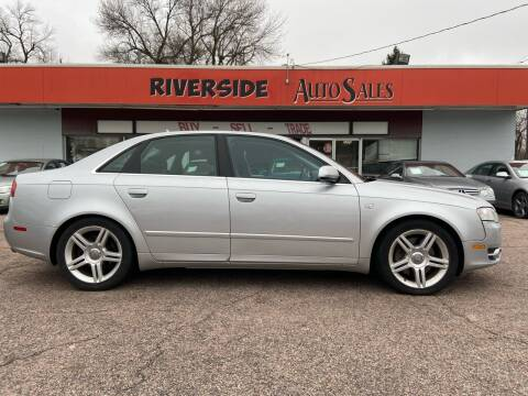 2007 Audi A4 for sale at RIVERSIDE AUTO SALES in Sioux City IA