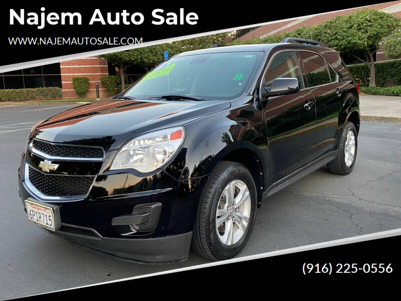 2012 Chevrolet Equinox for sale at Najem Auto Sale in Sacramento CA