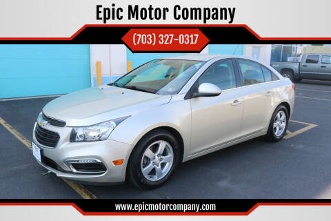 2016 Chevrolet Cruze Limited for sale at Epic Motor Company in Chantilly VA