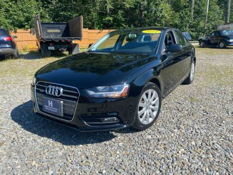 2014 Audi A4 for sale at Hornes Auto Sales LLC in Epping NH