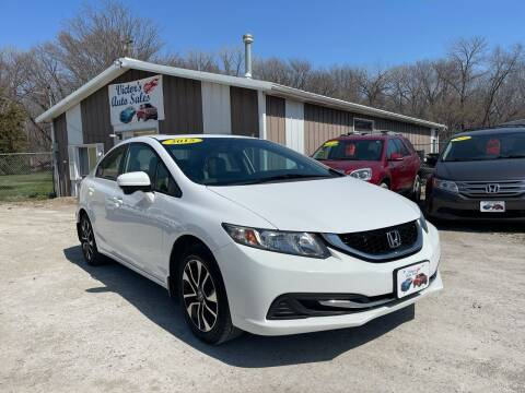 2015 Honda Civic for sale at Victor's Auto Sales Inc. in Indianola IA