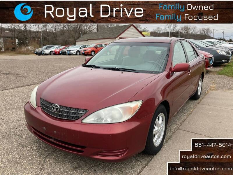 2003 Toyota Camry for sale at Royal Drive in Newport MN