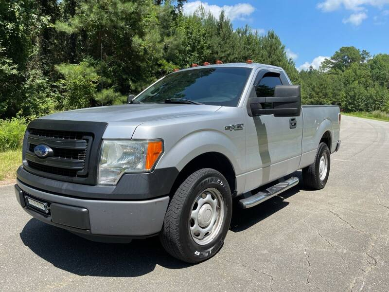 2014 Ford F-150 for sale at Carrera AutoHaus Inc in Clayton NC