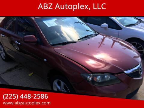 2009 Mazda MAZDA3 for sale at ABZ Autoplex, LLC in Baton Rouge LA
