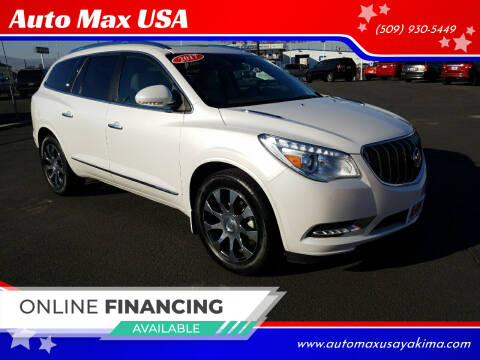 2017 Buick Enclave for sale at Auto Max USA in Yakima WA
