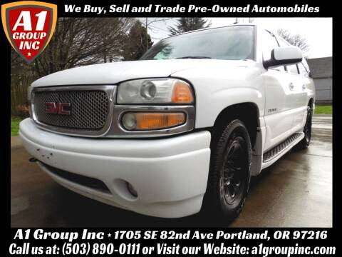 2003 GMC Yukon XL for sale at A1 Group Inc in Portland OR