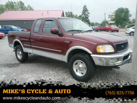 1997 Ford F-150 for sale at MIKE'S CYCLE & AUTO in Connersville IN