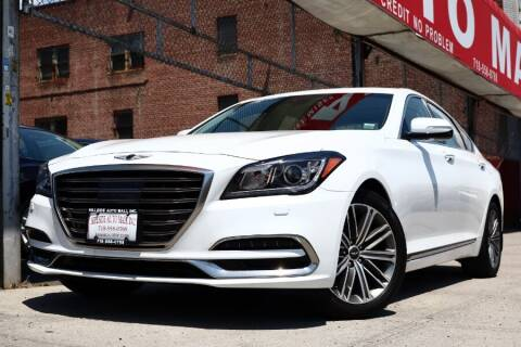 2018 Genesis G80 for sale at HILLSIDE AUTO MALL INC in Jamaica NY