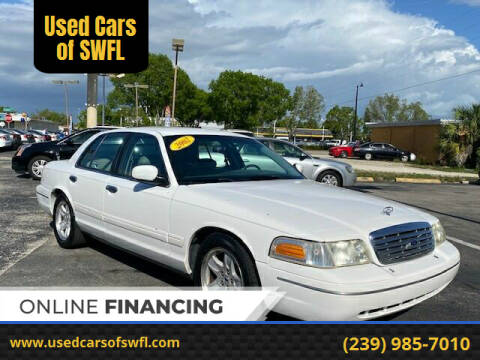 2002 Ford Crown Victoria for sale at Used Cars of SWFL in Fort Myers FL