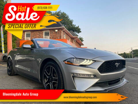2020 Ford Mustang for sale at Bloomingdale Auto Group - The Car House in Butler NJ