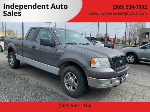 2005 Ford F-150 for sale at Independent Auto Sales #2 in Spokane WA