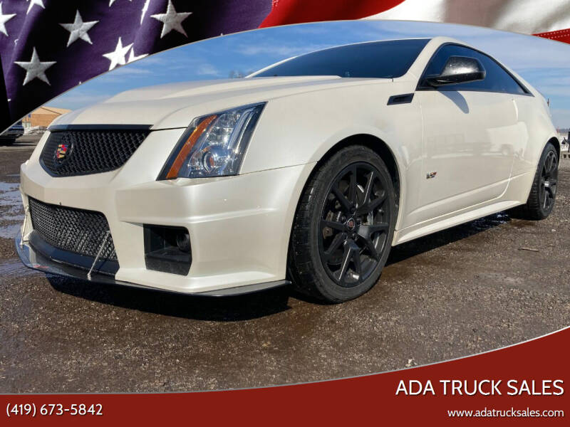2012 Cadillac CTS-V for sale at Ada Truck Sales in Ada OH