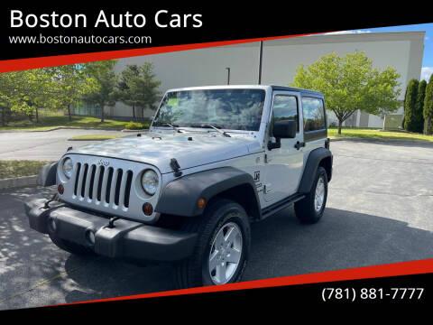 2011 Jeep Wrangler for sale at Boston Auto Cars in Dedham MA