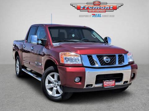 2015 Nissan Titan for sale at Rocky Mountain Commercial Trucks in Casper WY