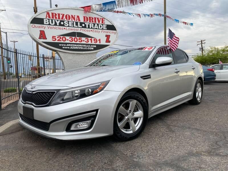 2014 Kia Optima for sale at Arizona Drive LLC in Tucson AZ
