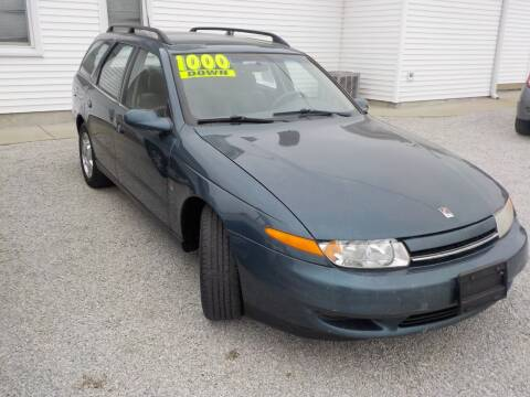 2002 Saturn S-Series for sale at SEBASTIAN AUTO SALES INC. in Terre Haute IN