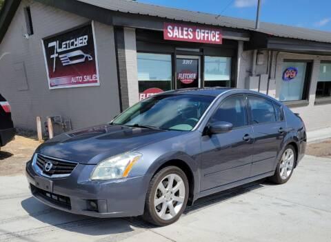 2007 Nissan Maxima for sale at Fletcher Auto Sales in Augusta GA