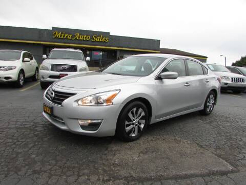 2013 Nissan Altima for sale at MIRA AUTO SALES in Cincinnati OH