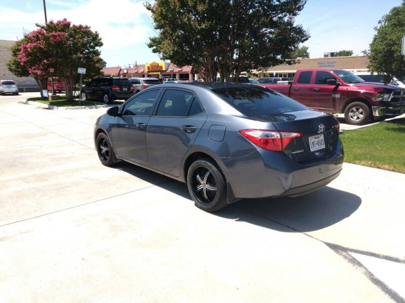 2014 Toyota Corolla S 4dr Sedan - Mckinney TX
