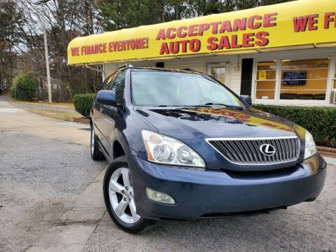 2004 Lexus RX 330 for sale at Acceptance Auto Sales in Marietta GA