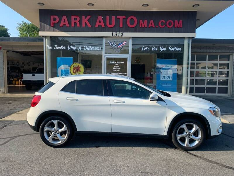 2018 Mercedes-Benz GLA for sale at Park Auto LLC in Palmer MA