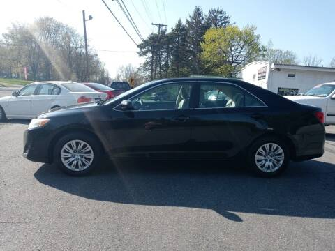 2013 Toyota Camry for sale at DND AUTO GROUP 2 in Asbury NJ