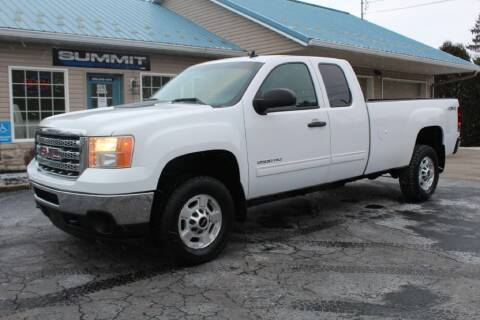 2013 GMC Sierra 2500HD for sale at Summit Motorcars in Wooster OH