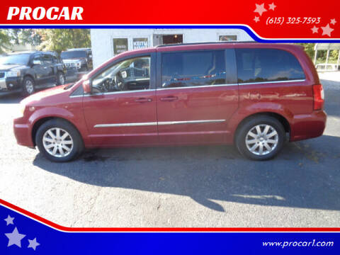 2013 Chrysler Town and Country for sale at PROCAR in Portland TN