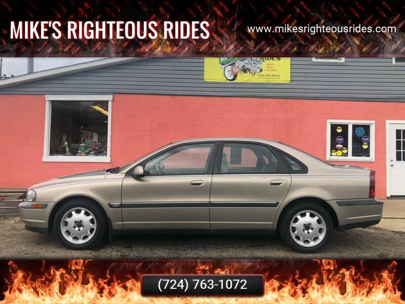 2001 Volvo S80 for sale at Mike's Righteous Rides in Mc Grann PA